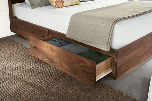 """Hudson Storage Bed - probably the best option for the price, if we can't find a """"naked"""" platform bed $2599"""