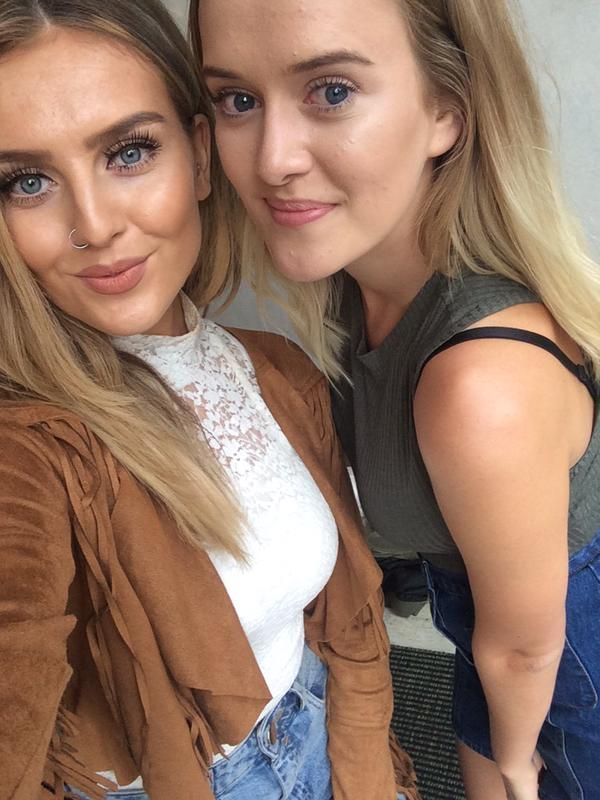 Little Mix meeting fans in Sweden (26/07). | Perrie ... Perrie Edwards With Fans