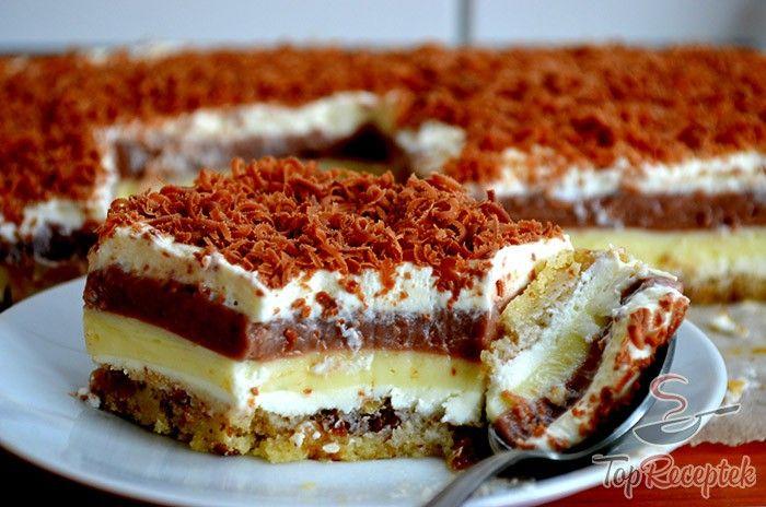 Ez a sütemény, fantázianéven finomság luxuskivitelben – SZEX a tányéron egy csodálatos ízkavalkád. A pekándió és a túró házasításából ez a fenséges édesség született. Isteni finom, a család imádja. Tészta, váltakozó krémek, csokoládé. Ki tud ennek ellenállni?
