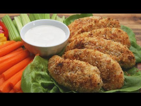 This Recipe For Garlic Parmesan Chicken Tenders Will Be Better Than Any Restaurant's