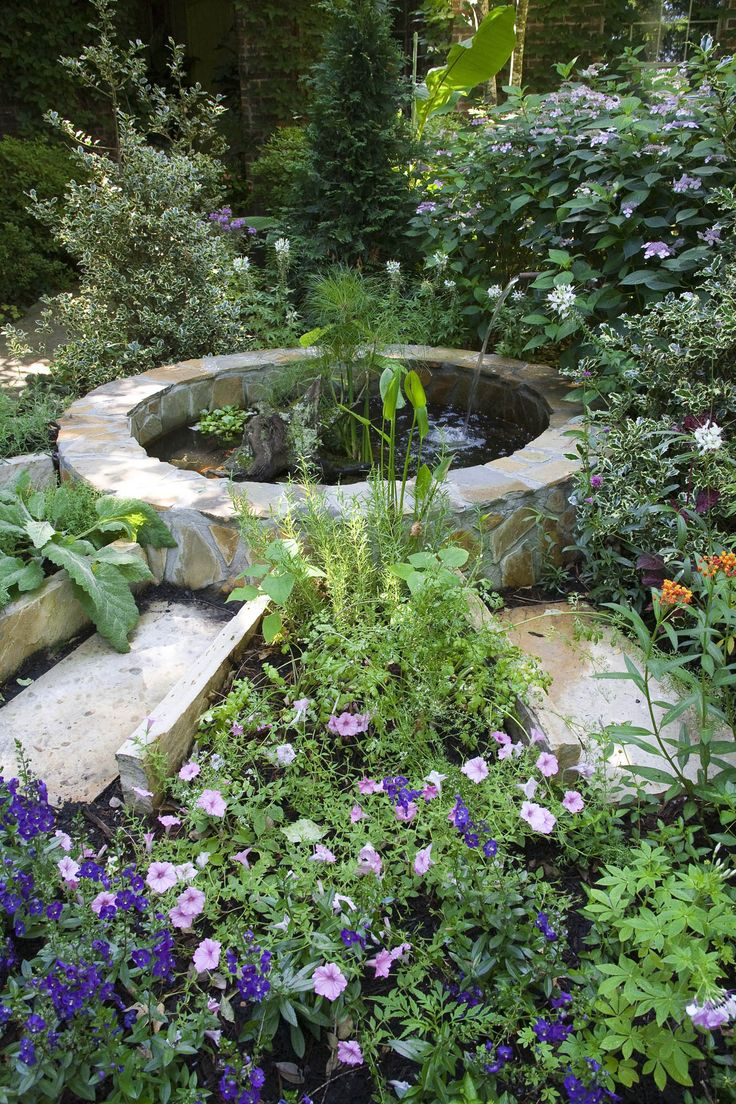 17 best images about fountains and water on pinterest for Outdoor pond