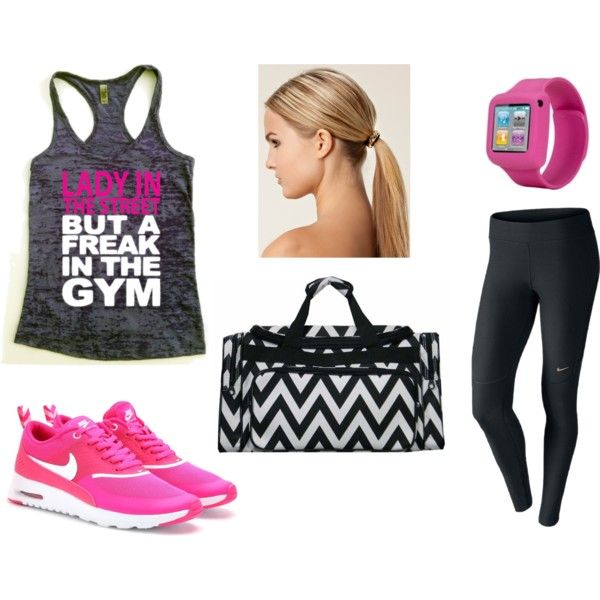 Gym Clothes - Lady in the Street but a FREAK in the Gym  By Sarah Duncan