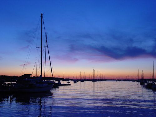 Parker's Boatyard Sunset, Cape Cod