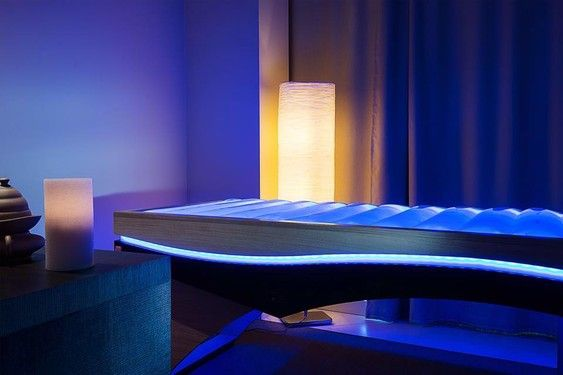 Equilibrium at Gocce d'Oriente innovative wellness centre in Rimini, Italy