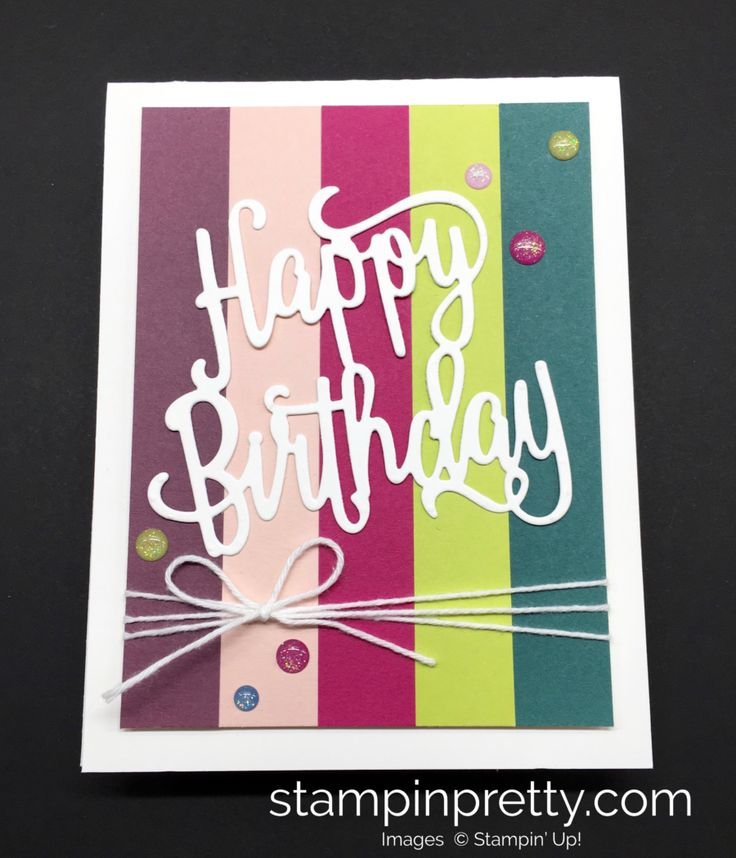 298 Best Images About Birthday Cards