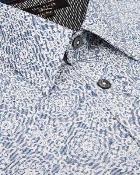 TESPRIN - Printed shirt - Blue | Men's | Ted Baker UK
