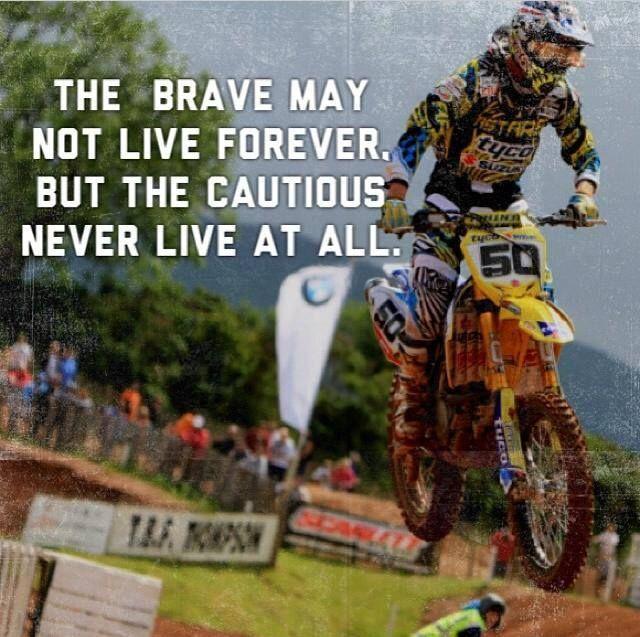 Dirt Bike Quotes: #inspirational #quote #motocross #dirt #bike