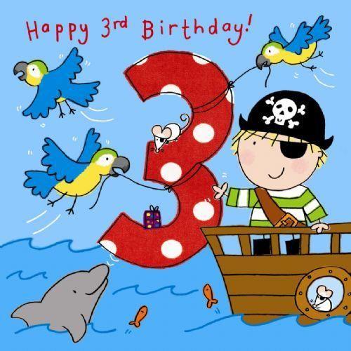 3-happy-3rd-birthday-handfinished-3rd-birthday-card ...