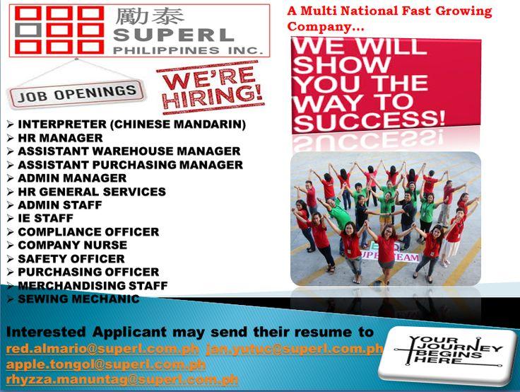 Superl Philippines Inc (spirecruitment) en Pinterest