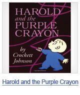 harold and the purple crayonReading, Harold, Crockett Johnson, Favorite Book,  Dust Covers, Children Books, Kids Book, Purple Crayons, Book Jackets