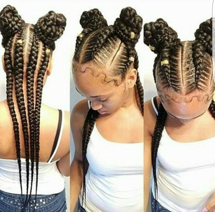Cornrow Hairstyles cool cornrow style for summer Pinterest Joniwhite219