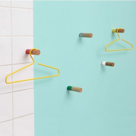 Wall Hook Set by Supershape | MONOQI #bestofdesign #geschenkideen