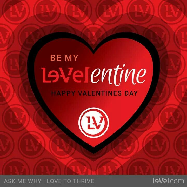 Be my Le-Velentine! Go to my website and Crete a free and no hassle customer account! You won't regret it! THRIVE IS FOR EVERYONE!   Www.lizwatson89.le-vel.com