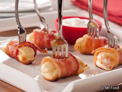 Bacon Pierogi Bites | mrfood.com