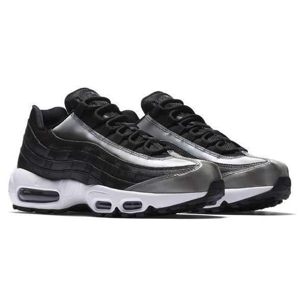 Womens Nike Air Max 95 Se Running Shoe ($170) ❤ liked on Polyvore featuring