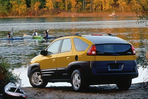 Pontiac Aztek, I always liked these. they were different.