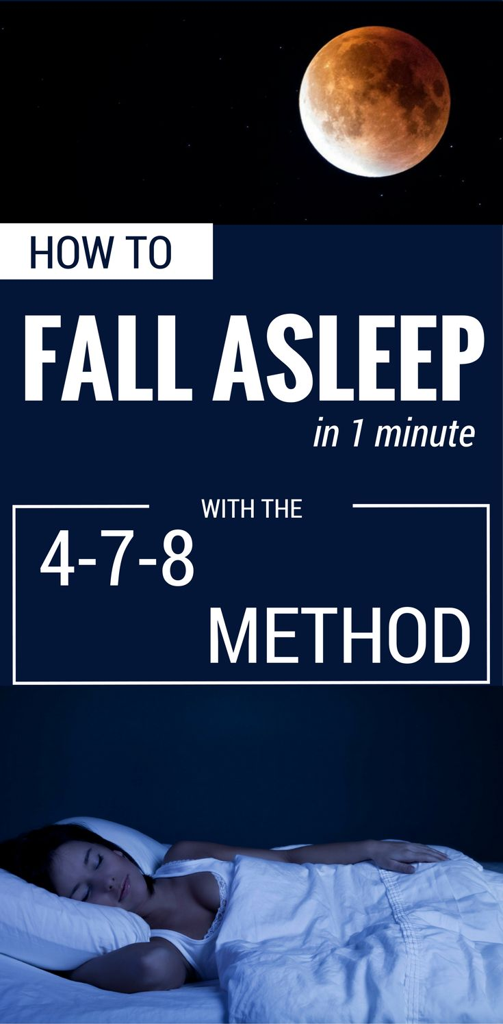 How To Fall Asleep In 1 Minute With The 478 Method?  101beautytips
