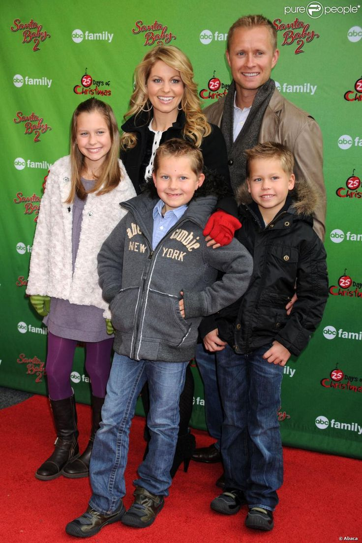 valerie bure hockey   Candace Cameron Bure avec son mari Valeri Bure et ses enfants, Natasha ...