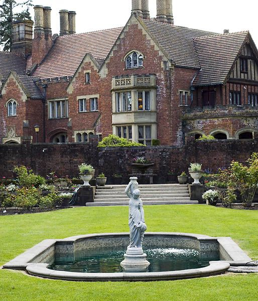 Thornewood Castle is a 500-year-old Tudor Gothic historic site