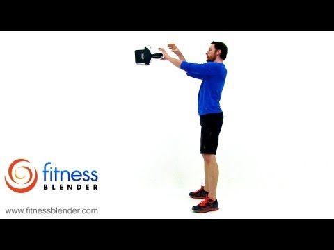 40 MInute Kettlebell 'til you Drop – Total Body Kettlebell Workout Video, Fitness Blender