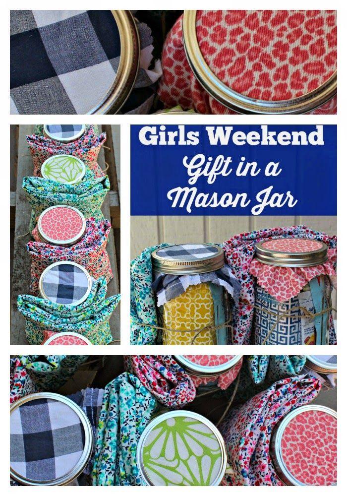 Girls Weekend Gift in a Jar