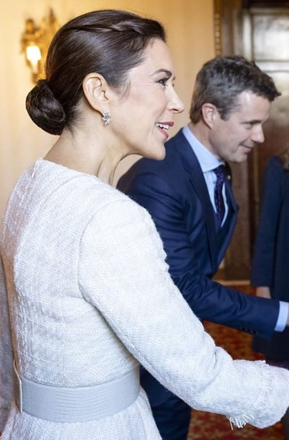09e47ca3395 06/11-2018 Crown Prince Frederik and Crown Princess Mary of Denmark are  visiting Italy's capital, Rome on November 6-8, 2018 with a large Danish  business ...