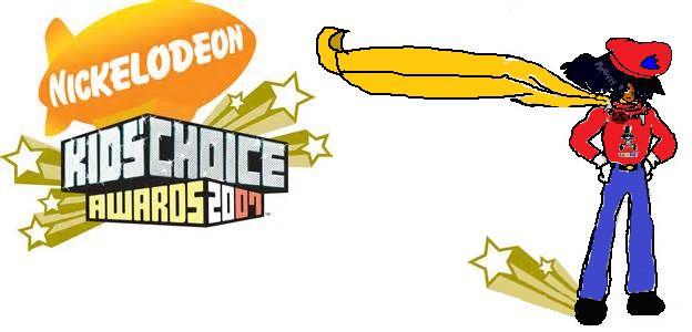 Nickelodeon Kids Choice Awards 2007 Logo part 1