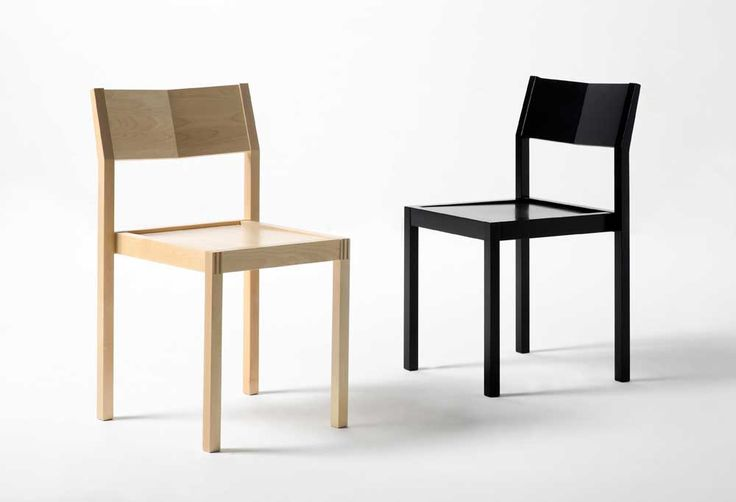 VAKO in natural birch and black, design Jouko Järvisalo
