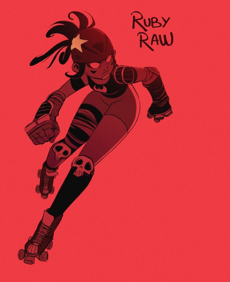 """Character Design Challenge Of The Month : Supersonic fury """" ruby raw my participation for the"""
