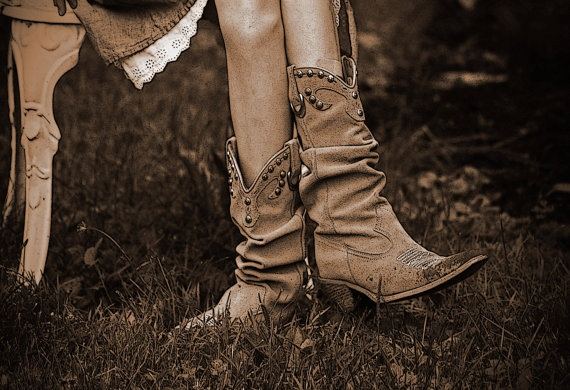Southwest Photography, sepia, cowboy boots, girl, Heart of ...
