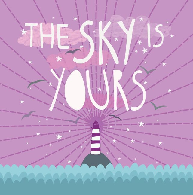 'Your Sky' Square Card £2.50