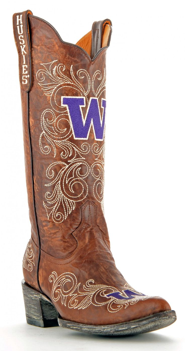 UW Huskies Game day Boots!-OMG I WANT THESE and I bet my mother will absolutely love them too!!!