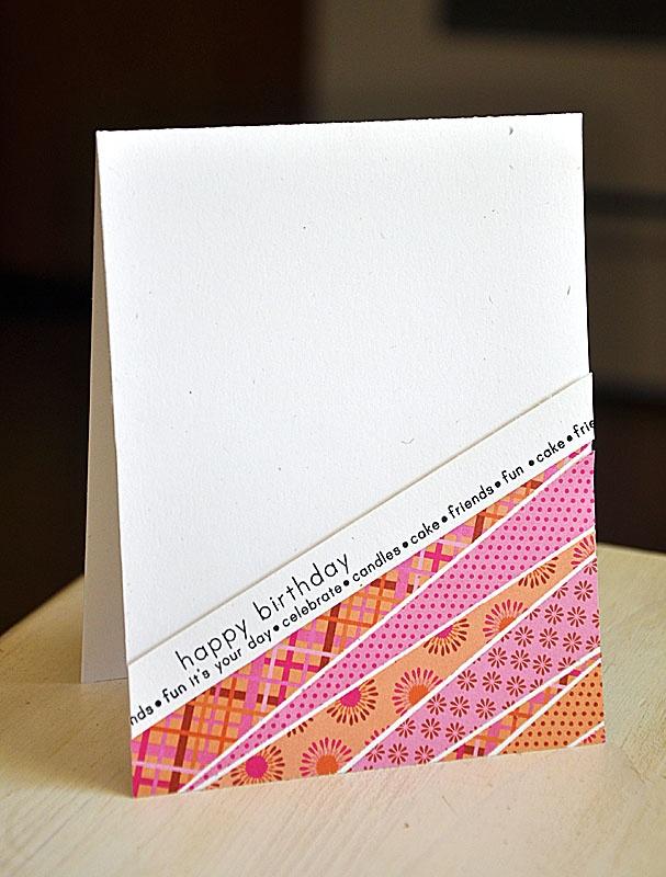 Подруге днем, бумажные открытки обмена