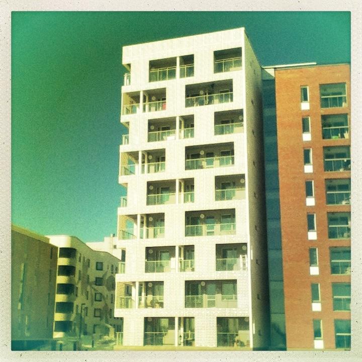 Apartment house, Arabianranta, Helsinki, March 2013