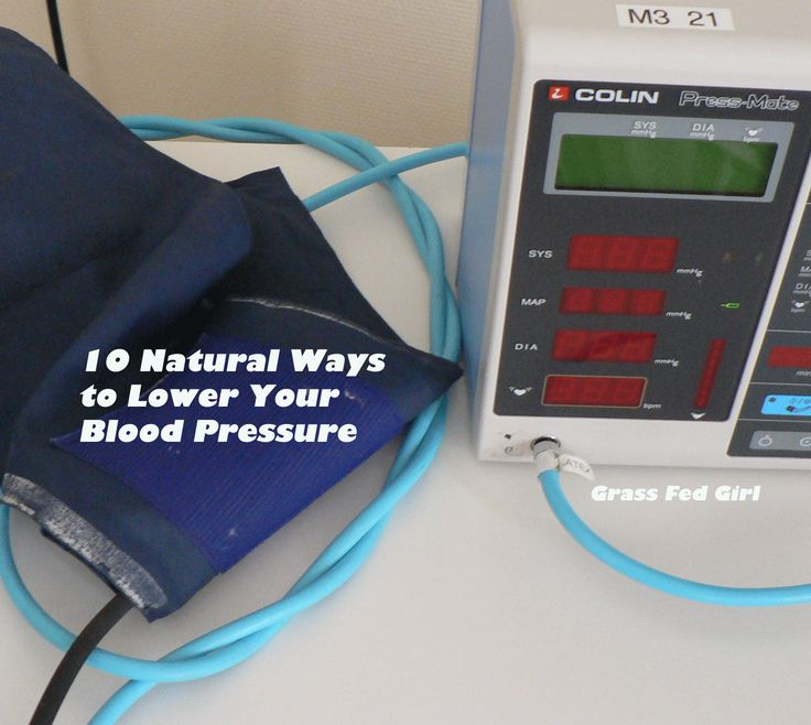 how to get off blood pressure medication