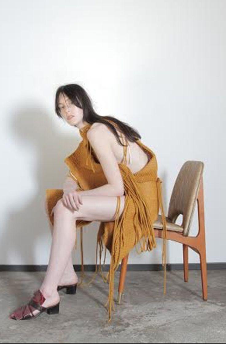 Fashion Designer Amy Crookes Wants To Subvert Stereotypical Body Image Via Fashion #amycrookes #fashiondesign #fashiondesignstudent #studentfashion #hautecouture #australianfashion #sydneyfashion #ss16 #w17 #burgundy #burgundyfashion #textiles #DIY #weaving #genderfluidity #genderdiversity