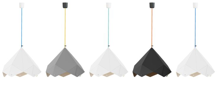 New ARLI ORIGAMI Light #lamp #light #design #color #textile #cord #cable #svietidlá #lampy