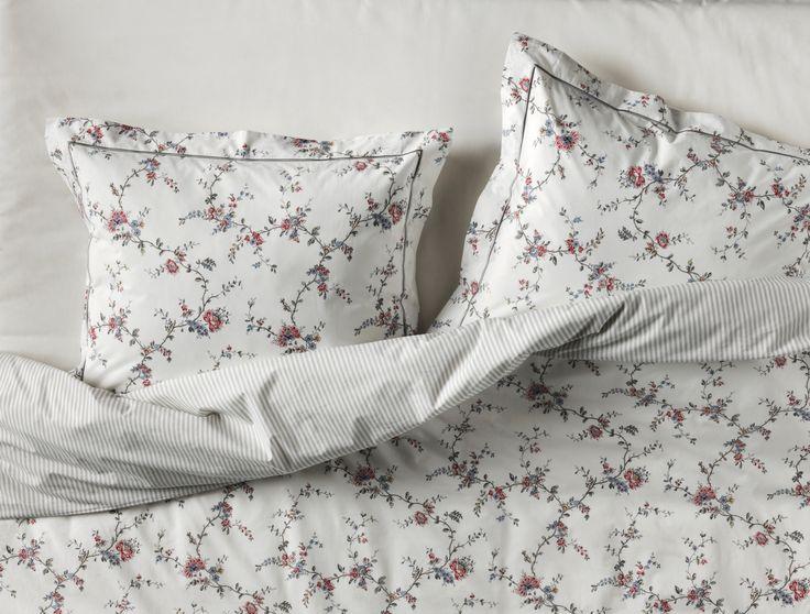 STENÖRT dekbedovertrek met 2 slopen | #IKEAcatalogus #nieuw #2017 #IKEA #IKEAnl #slapen #slaapkamer #bloemen