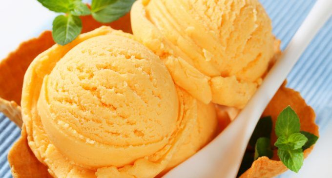 This Classic Orange Sherbet Recipe Takes Us Back to Our Childhoods