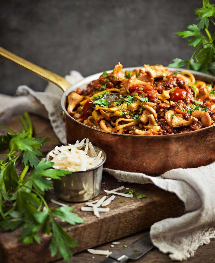 Bjud på vår lättlagade vegetariska bolognese – den gör succé!