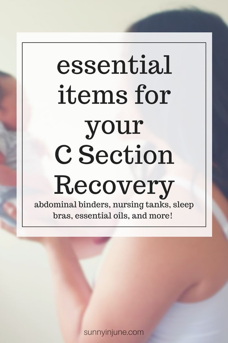 (24) Essential Items for C Section Recovery | It's Always Sunny in June Blog | Pinterest