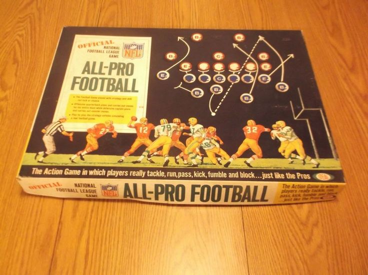 CR) Vintage Ideal All-Pro Football Game