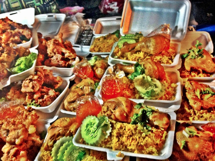 The Sunday Night Market Food In Koh Samui Thailand Samui