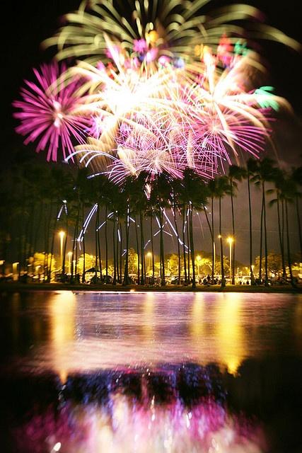 july 4th fireworks oahu