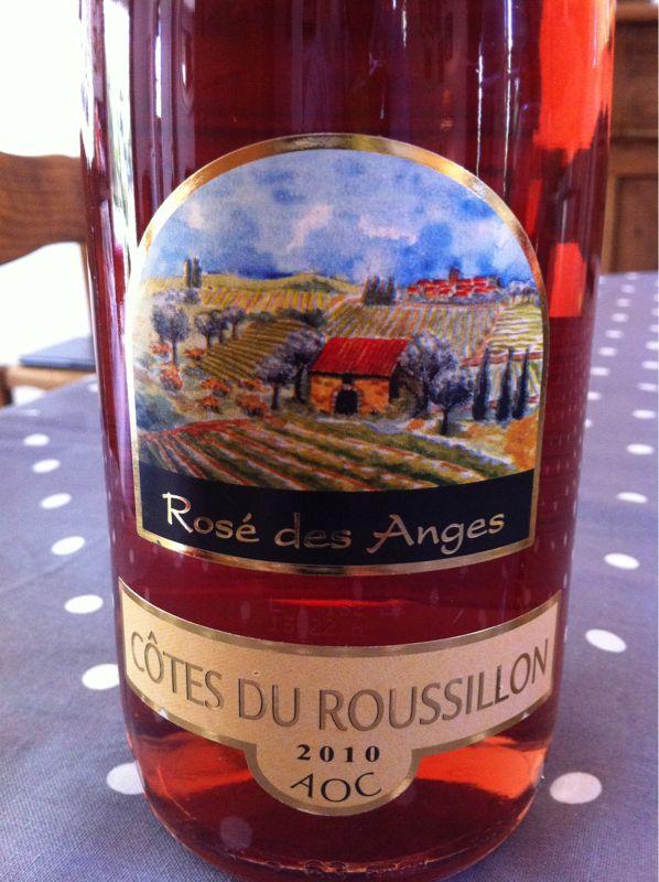 Rosé des Anges. Côtes du Roussillon