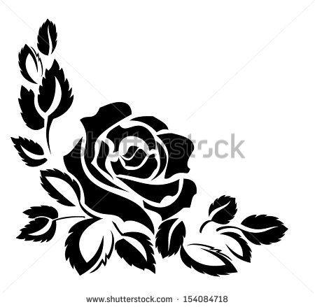 rose - stock vector