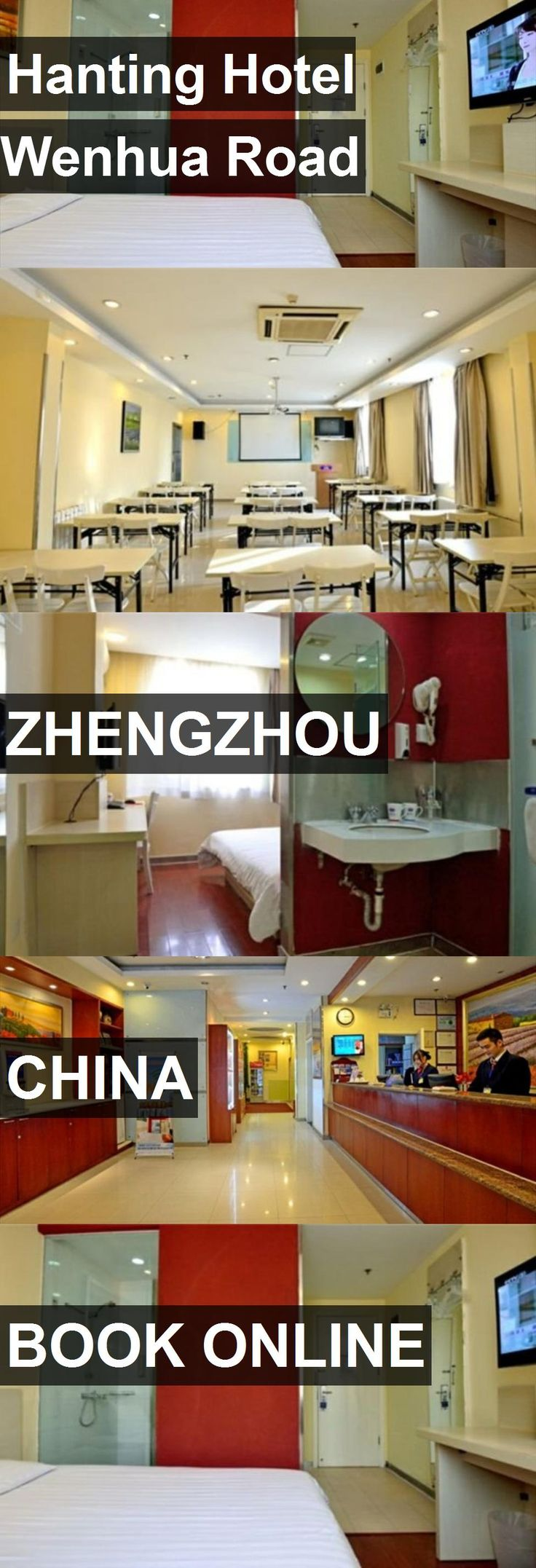 Hanting Hotel Wenhua Road in Zhengzhou, China. For more information, photos, reviews and best prices please follow the link. #China #Zhengzhou #travel #vacation #hotel