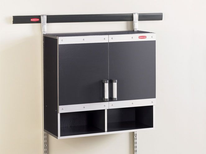 Garage Wall Cabinet Works With FastTrack Organization System