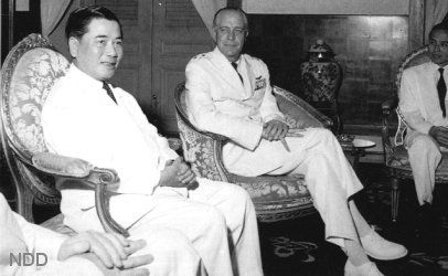 Ngo Dinh Diem, the first democratically elected President of the ...