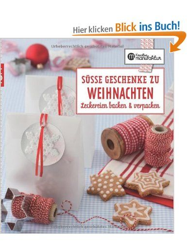 die kreative manufaktur s e geschenke zu weihnachten leckereien backen verpacken amazon. Black Bedroom Furniture Sets. Home Design Ideas